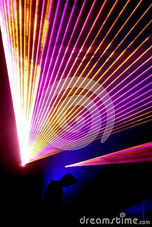 Laser concert