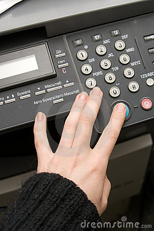 Free Laser Copier And Fax Stock Image - 20849071