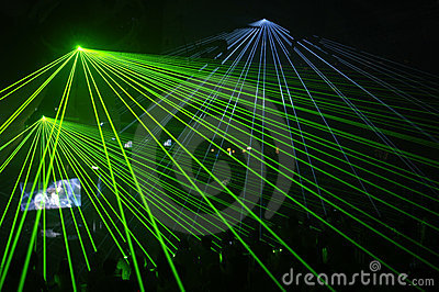 Laser party
