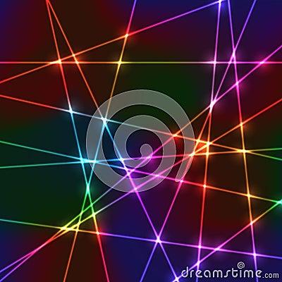 Free Laser Random Neon Grid Royalty Free Stock Photos - 52332828