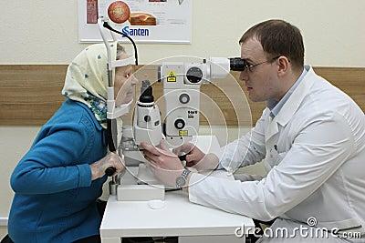 Laser surgery Editorial Image