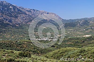 Lasithi plateau, Crete island, Greece
