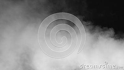 Lassen Sie durch den Nebel/den Dampf/den Rauch mit Alphalech passieren stock video footage