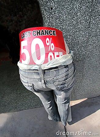 Last Chance 50 Percent Off