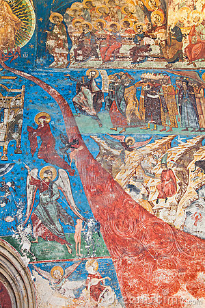 Last Judgement at Humor Monastery