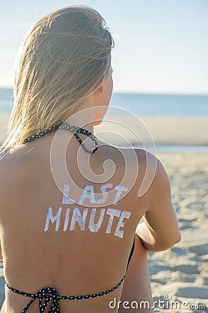 Last Minute Girl
