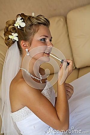 Last preparing for wedding ceremony