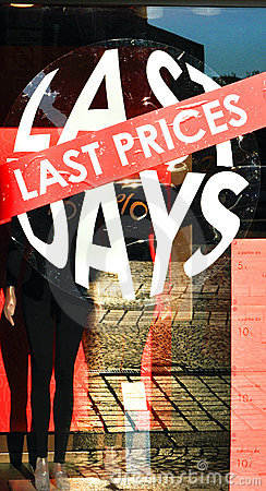 Last price, last days