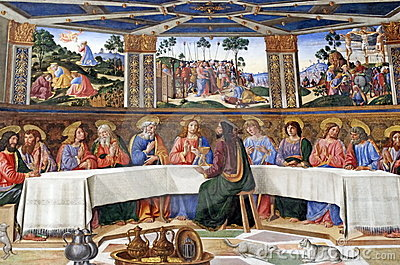 The Last Supper Editorial Image