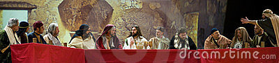 Last Supper of Jesus Editorial Stock Image