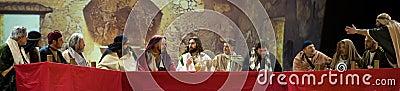 Last Supper of Jesus Editorial Stock Image