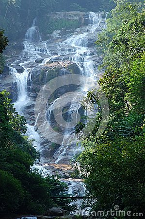 The Lata Kinjang waterfall Editorial Photography