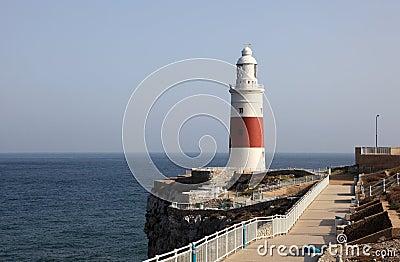 Latarnia morska w Gibraltar