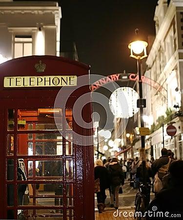 Late night life in London