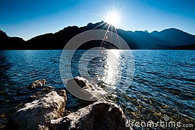 Late Sun over Lake