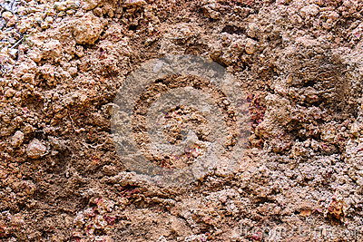 Laterite soil stock photo image 50592246 for What do you mean by soil