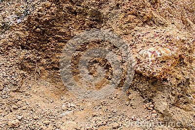 Laterite soil stock photo image 50592251 for Things found in soil
