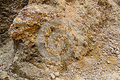 Laterite soil stock photo image 50592425 for Things found in soil