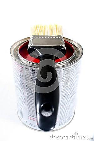Free Latex House Paint Royalty Free Stock Photos - 505958
