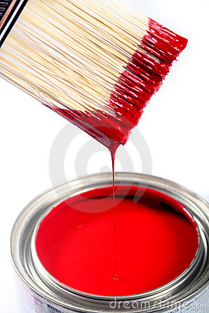 Free Latex House Paint Stock Photography - 505962
