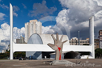 Latin America Memorial Sao Paulo Brazil Editorial Photo
