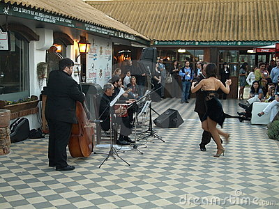 Latin American Tango Dancers