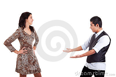 Latin man to extend his arms to embrace his belove