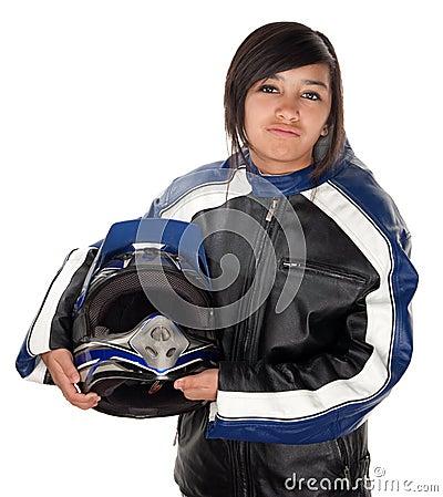 Latina Teen Racer