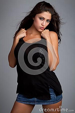 Free Latina Woman Royalty Free Stock Images - 14859149
