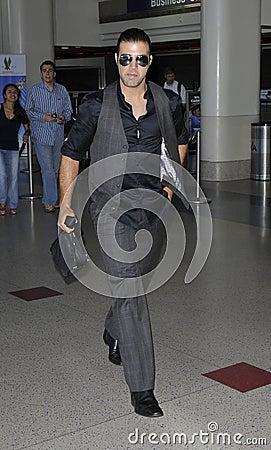 Latino actor/singer JenCarlos Canela at LAX Editorial Photography