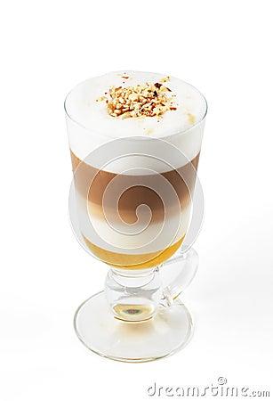Latte with honey