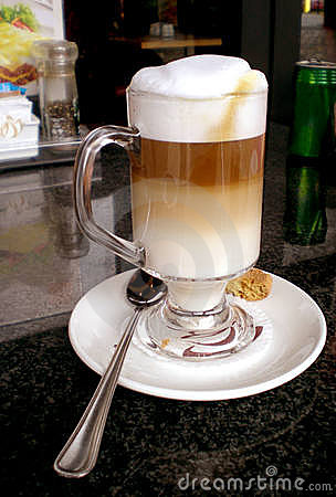 Free Latte Macchiato Stock Photography - 3391942