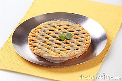 Lattice topped tart
