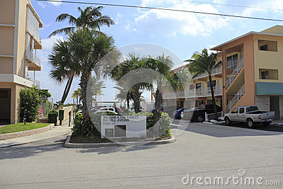 Datura Avenue Portal, Lauderdale By The Sea, Florida Editorial Image