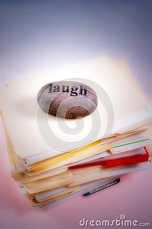 Laugh off workload
