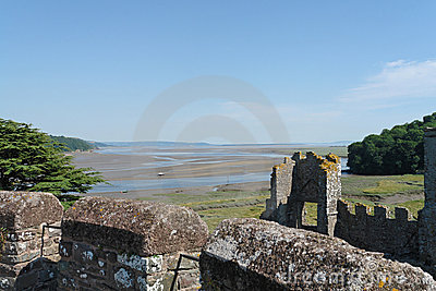 Laugharne Castle Views