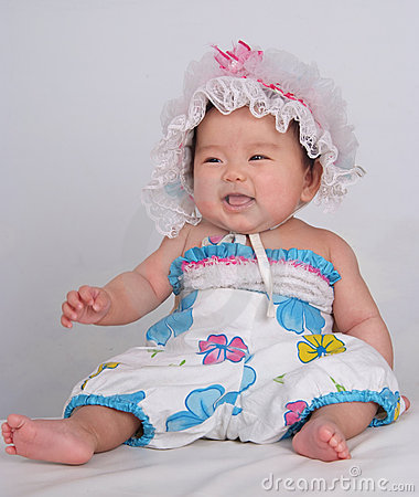 Free Laughing Baby Royalty Free Stock Image - 5899856