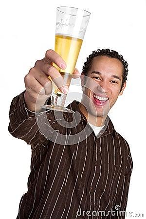 Laughing Beer Man