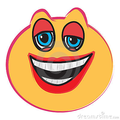 laughing face clip art. LAUGHING FACE