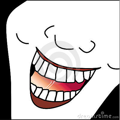 Laughing Face Caricature Illustration Royalty Free Stock Image - Image: 14579766