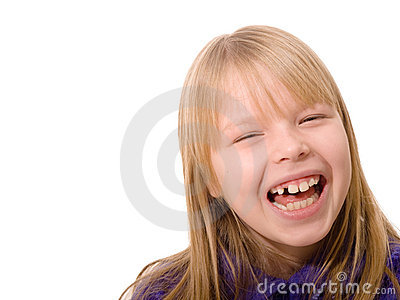 Laughing girl