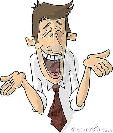 Free Laughing Guy Royalty Free Stock Photo - 168075