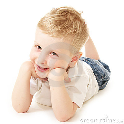 Free Laughing Little Boy Royalty Free Stock Images - 10254139