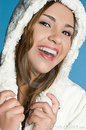 Free Laughing Winter Teen Stock Images - 11616344