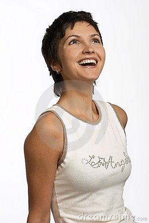Free Laughing Woman Royalty Free Stock Photos - 351698
