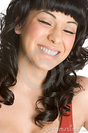 Free Laughing Woman Royalty Free Stock Photography - 4189017