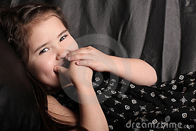 Laughing Young Child