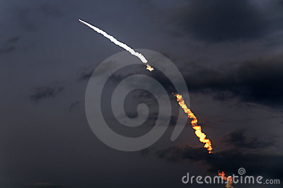 Launch of Discovery shuttle mission STS-119