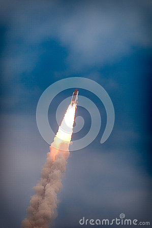 Free Launch Of Atlantis-STS-135 Stock Images - 42999624