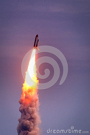 Free Launch Of Atlantis-STS-135 Stock Photo - 42999630